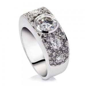 Amanda-Brighton-commission-diamond-and-grey-diamond-ring-18k-white-gold